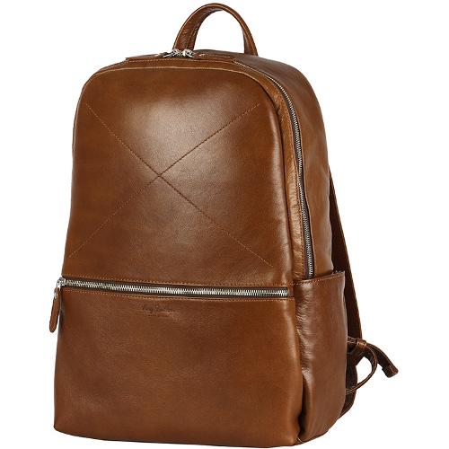 Рюкзак Ray Button Hastings для MacBook 13 светло-коричневыйРюкзаки<br>Ray Button Hastings - это стильный и удобный аксессуар на каждый день.<br><br>Цвет товара: Коричневый<br>Материал: Натуральная кожа