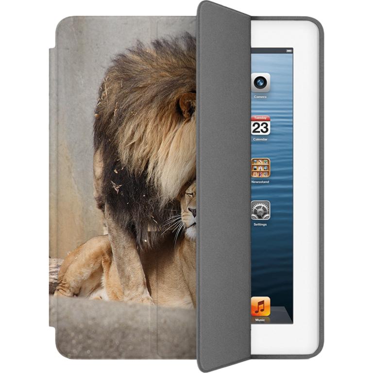 Чехол Muse Smart Case для iPad 2/3/4 Лев и львицаЧехлы для iPad 1/2/3/4<br>Чехлы Muse — это индивидуальность, насыщенность красок, ультрасовременные принты и надёжность.<br><br>Цвет: Разноцветный<br>Материал: Поликарбонат, полиуретановая кожа