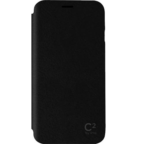 Чехол Uniq C2 Slim для iPhone 6 Plus (5,5) чёрныйЧехлы для iPhone 6/6s Plus<br>Чехол Uniq C2 для iPhone 6 Plus Черный<br><br>Цвет товара: Чёрный<br>Материал: Поликарбонат, полиуретановая кожа
