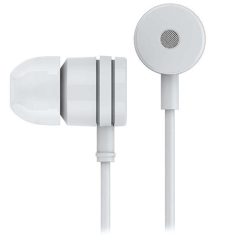 Наушники Xiaomi Basic RM 25 белыеВнутриканальные наушники<br>Xiaomi Basic RM 25 - это великолепное звучание, высокий уровень комфорта и стильный внешний вид!<br><br>Цвет товара: Белый<br>Материал: Пластик, силикон