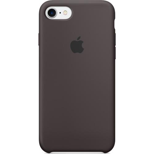 Силиконовый чехол Apple Case для iPhone 7 (Айфон 7) тёмное какаоЧехлы для iPhone 7/7 Plus<br>Силиконовый чехол Apple Case для iPhone 7 (Айфон 7) тёмное какао<br><br>Цвет товара: Коричневый<br>Материал: Силикон