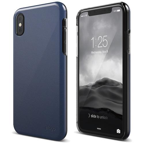 Чехол Elago Slim Fit 2 для iPhone X синийЧехлы для iPhone X<br>Ультратонкий и в то же время невероятно прочный Elago Slim Fit 2 — это абсолютная защита для вашего iPhone X!<br><br>Цвет: Синий<br>Материал: Поликарбонат