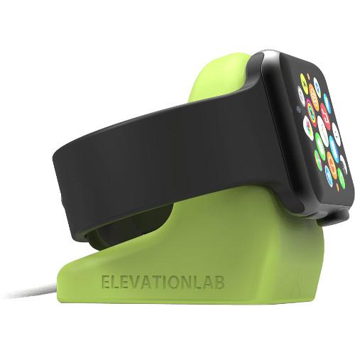 Док-станция Elevation Lab NightStand для Apple Watch зелёнаяДокстанции Apple Watch<br>Док-станция ElevationLAB NightStand для Apple Watch зеленый<br><br>Цвет товара: Зелёный<br>Материал: Пластик