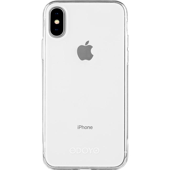 Чехол Odoyo Soft Edge для iPhone X прозрачный (Jelly Clear)Чехлы для iPhone X<br>Odoyo Soft Edge - тонкий и элегантный чехол для iPhone X.<br><br>Цвет: Прозрачный<br>Материал: Поликарбонат