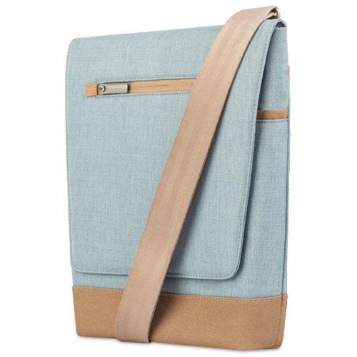Сумка Moshi Aerio Lite для iPad голубаяСумки для iPad<br>Moshi Aerio Lite прекрасно защищает iPad.<br><br>Цвет товара: Синий<br>Материал: Полиэстер, хлопок