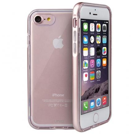 Чехол Uniq Aeroporte для iPhone 7 (Айфон 7) розовое золотоЧехлы для iPhone 7<br>Чехол Uniq Aeroporte для iPhone 7 (Айфон 7) розовое золото<br><br>Цвет товара: Розовое золото<br>Материал: Поликарбонат, полиуретан