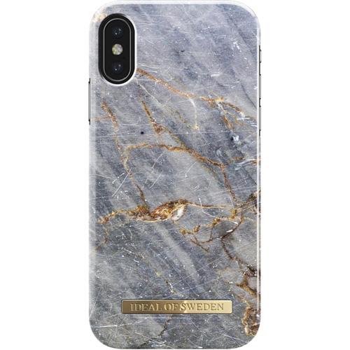 Чехол iDeal of Sweden Fashion Case для iPhone X (Royal Grey Marble)Чехлы для iPhone X<br>Чехол iDeal of Sweden Fashion Case станет истинным украшением самого лучшего смартфона!<br><br>Цвет товара: Серый<br>Материал: Пластик, замша