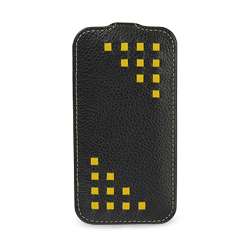 Чехол TETDED Weave для Samsung GALAXY S4 Чёрный/Жёлтый