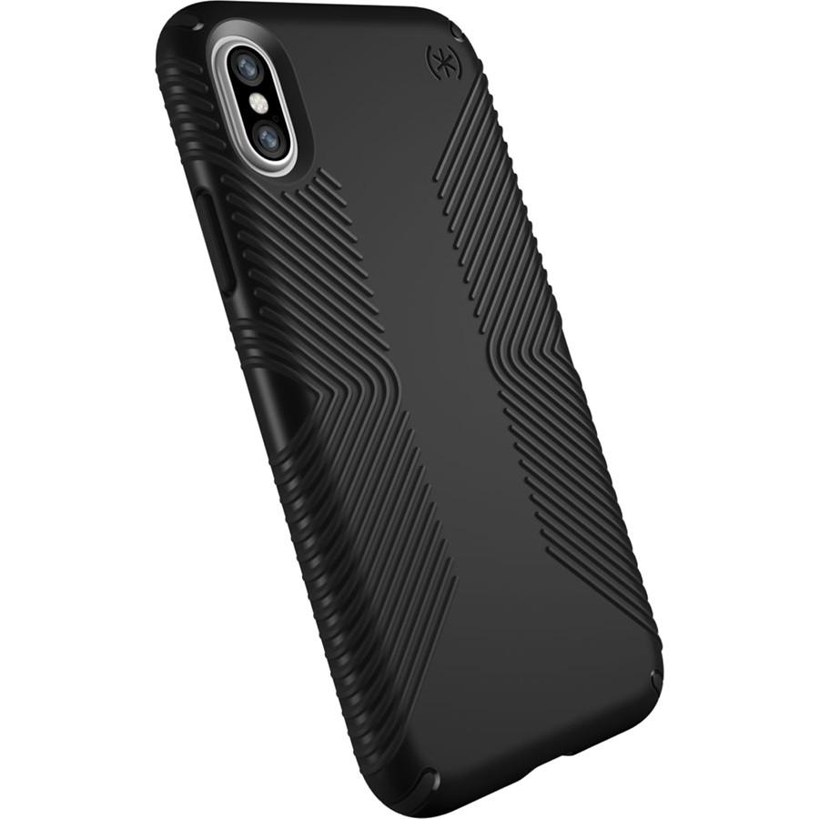 Чехол Speck Presidio Grip для iPhone X чёрныйЧехлы для iPhone X<br>Чехол Speck Presidio GRIP для iPhone X — это великолепная двухслойная защита и стиль.<br><br>Цвет товара: Чёрный<br>Материал: Поликарбонат, резина