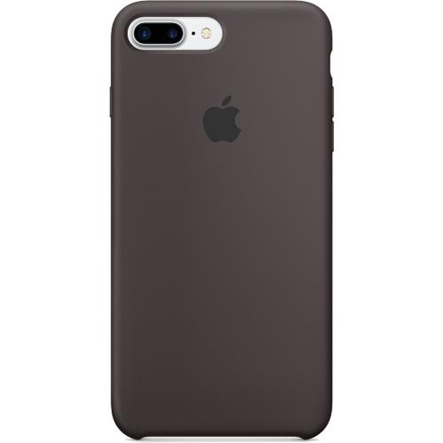 Силиконовый чехол Apple Case для iPhone 7 Plus (Айфон 7 Плюс) тёмное какаоЧехлы для iPhone 7/7 Plus<br>Силиконовый чехол  Apple Case для iPhone 7 Plus - Cocoa - Тёмное какао<br><br>Цвет товара: Коричневый<br>Материал: Силикон