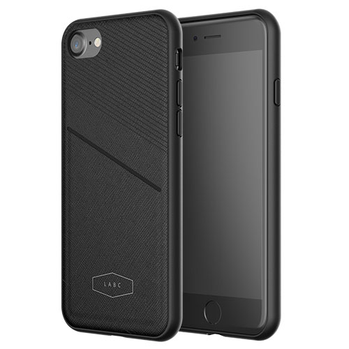 Чехол LAB.C Pocket Case для iPhone 7 чёрный