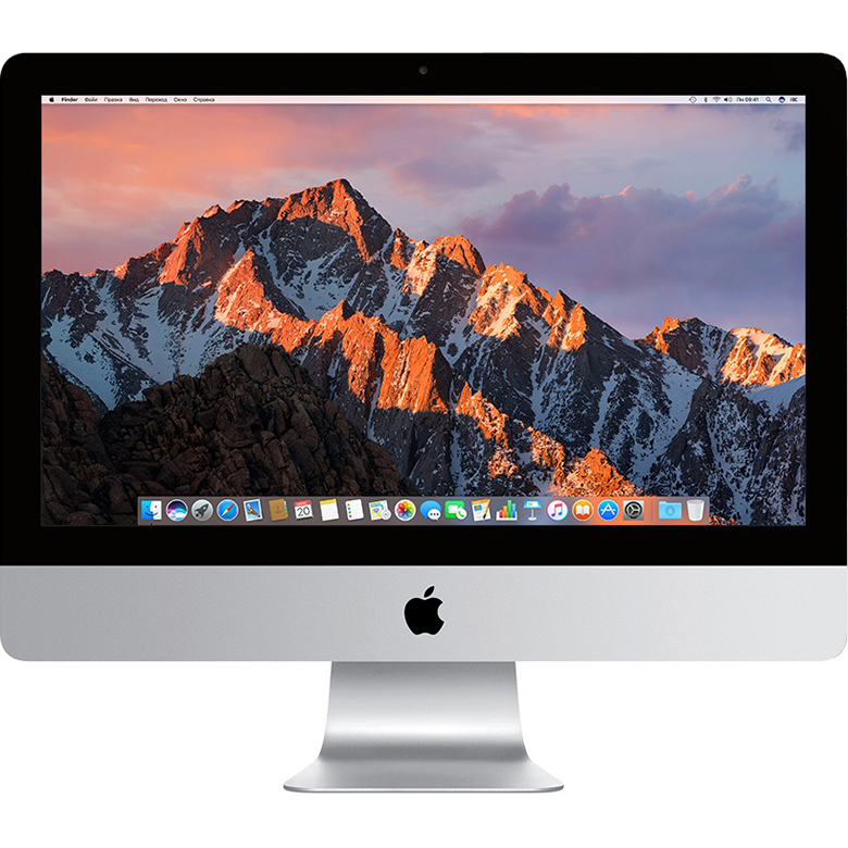 Моноблок Apple iMac 21.5 (MNDY2) Retina 4K Quad-Core Intel i5 3 Ghz/8 Gb/1 Tb/AMD Radeon Pro 555 2 GbКомпьютеры iMac<br>Моноблок Apple iMac 21.5 (MNDY2) Retina 4K Quad-Core Intel i5 3 Ghz/8 Gb/1 Tb/AMD Radeon Pro 555 2 Gb<br><br>Цвет: Серебристый<br>Материал: Алюминий, пластик<br>Модификация: 1 Тб