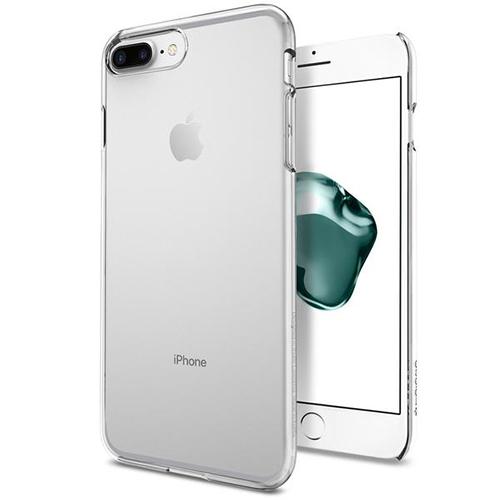 Чехол Spigen Thin Fit для iPhone 7 Plus кристально-прозрачный (SGP-043CS20935)Чехлы для iPhone 7 Plus<br>Клип-кейс Spigen для iPhone 7 Plus Thin Fit кристально-прозрачный (043CS20935)<br><br>Цвет товара: Прозрачный<br>Материал: Поликарбонат
