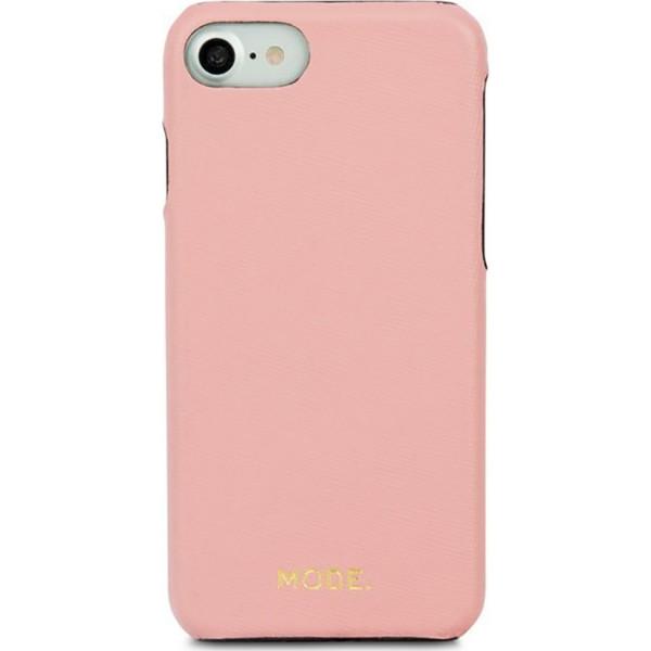 Чехол Dbramante1928 MODE. London для iPhone 8/7/6 розовыйЧехлы для iPhone 6/6s<br>Чехлы Dbramante 1928 серии MODE разработаны и изготовлены в Дании.<br><br>Цвет: Розовый<br>Материал: Сафьяновая кожа, поликарбонат
