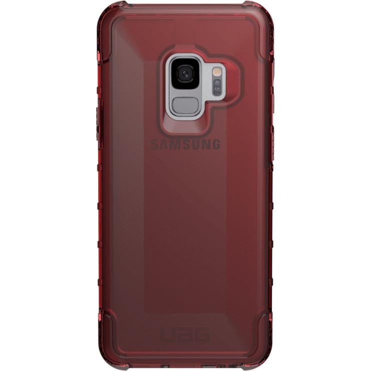 Чехол UAG PLYO Series Case для Samsung Galaxy S9 красный CRIMSONЧехлы для Samsung Galaxy S9/S9 Plus<br>UAG PLYO Series Case выполнен из высококачественного поликарбоната и убережёт ваш смартфон от самых различных повреждений<br><br>Цвет: Красный<br>Материал: Поликарбонат, термопластичный полиуретан