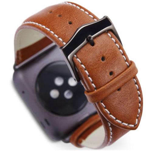 Ремешок Dbramante1928 Copenhagen Watch Strap для Apple Watch 42мм Серый космос / Светло-коричневыйРемешки для Apple Watch<br>Ремешок Dbramante1928 Copenhagen Watch Strap для Apple Watch 42мм Серый космос / Светло-коричневый<br><br>Цвет товара: Коричневый<br>Материал: Натуральная кожа, нержавеющая сталь<br>Модификация: 42 мм