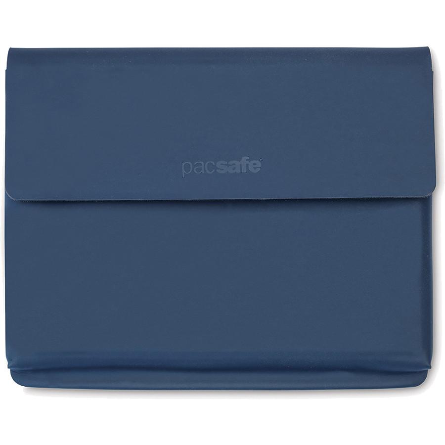 Кошелёк PacSafe RFIDsafe TEC Passport Wallet синий Navy BlueКошельки и портмоне<br>PacSafe RFIDsafe TEC Passport Wallet - надёжная защита ваших ценностей!<br><br>Цвет: Синий<br>Материал: Текстиль, ткань RFIDsafe