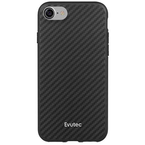 Чехол Evutec AER для iPhone 7 (Айфон 7) чёрный карбон