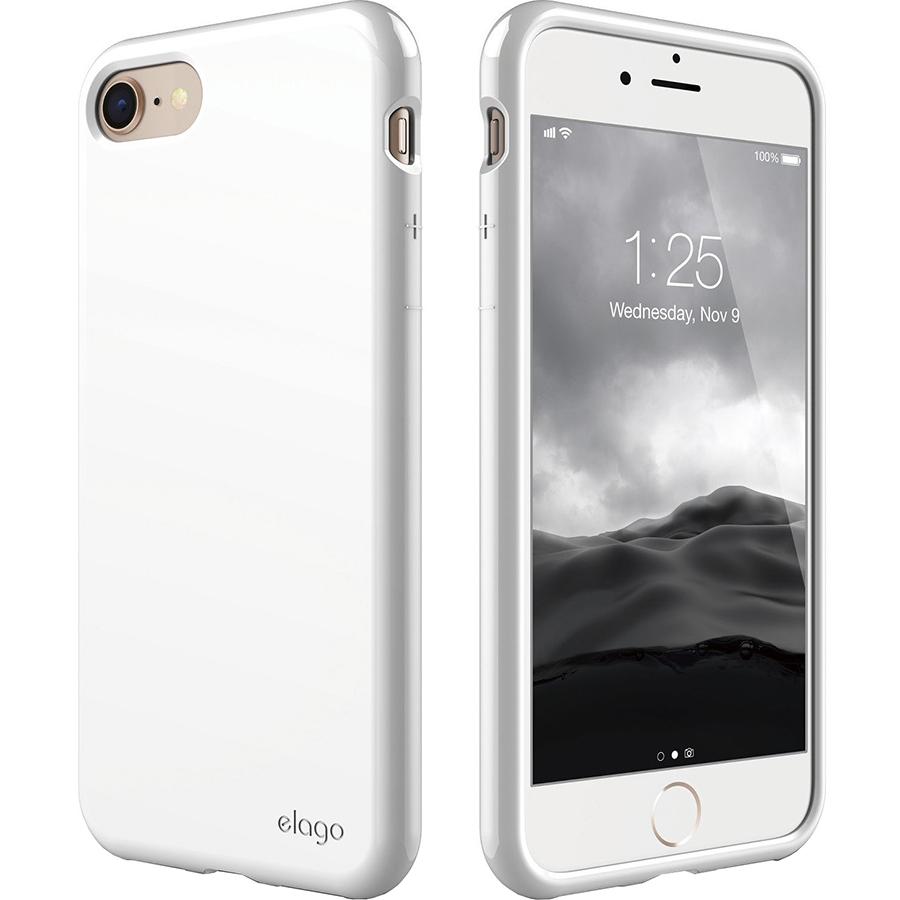 Чехол Elago Cushion Hard TPU для iPhone 7 / 8 белыйЧехлы для iPhone 7<br>Elago Cushion Hard TPU сделает ваш смартфон ещё более стильным и современным!<br><br>Цвет: Белый<br>Материал: Полиуретан