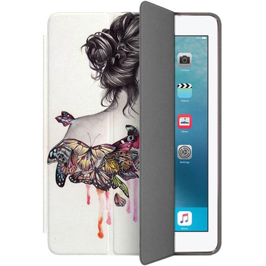 Чехол Muse Smart Case для iPad Pro  (10.5)  БабочкиЧехлы для iPad Pro 10.5<br>Чехлы Muse Smart Case — это индивидуальность, насыщенность красок, оригинальные принты и надёжная защита от повреждений.<br><br>Цвет: Бежевый<br>Материал: Поликарбонат, полиуретановая кожа