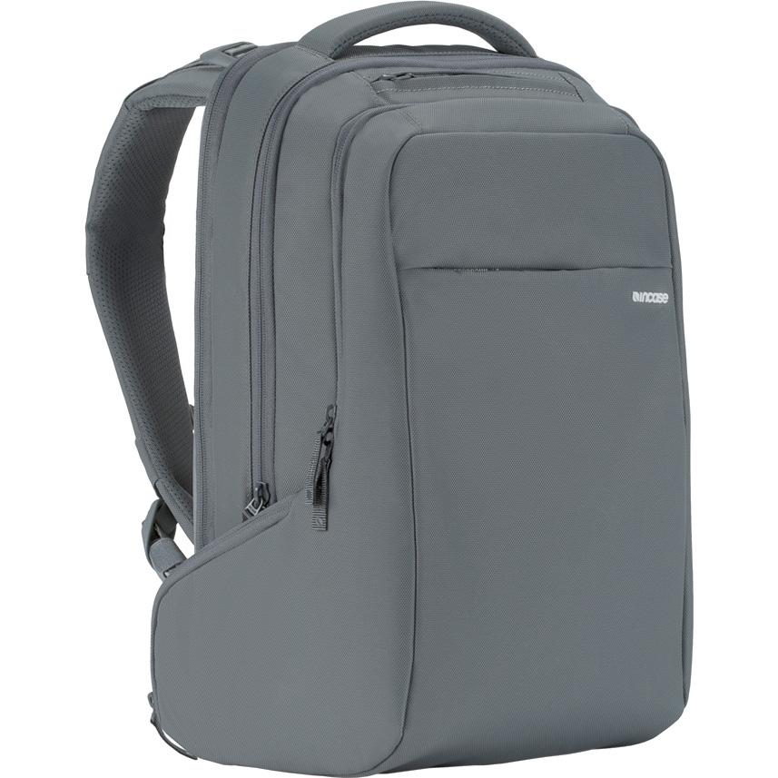 Рюкзак Incase ICON Backpack для MacBook 15 серый (CL55533)Рюкзаки<br>Прочный и компактный, рюкзак в тоже время очень вместительный!<br><br>Цвет: Серый<br>Материал: Нейлон (840 ден), текстиль