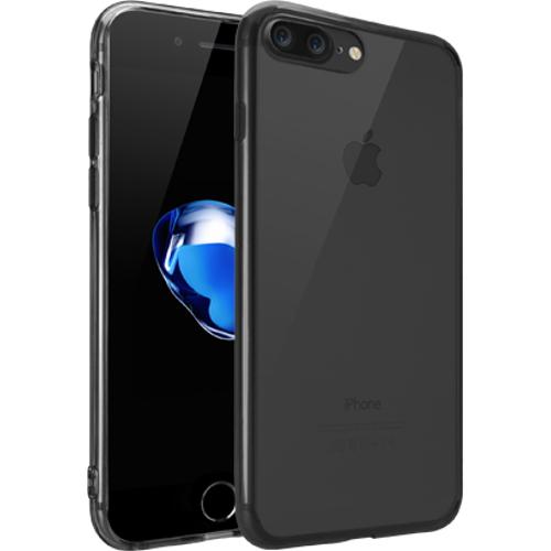 Чехол Ozaki O!coat Crystal+ для iPhone 7 Plus (Айфон 7 Плюс) прозрачный чёрныйЧехлы для iPhone 7 Plus<br>Чехол Ozaki O!coat Crystal+ для iPhone 7 Plus (Айфон 7 Плюс) прозрачный/черный<br><br>Цвет товара: Чёрный<br>Материал: Поликарбонат, полиуретан