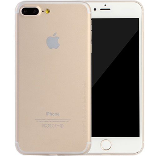 Чехол Memumi Ultra Slim 0.3 для iPhone 7 Plus белый полупрозрачныйЧехлы для iPhone 7 Plus<br>Memumi Ultra Slim 0.3 — один из самых тонких, надёжных и привлекательных чехлов для вашего любимого смартфона!<br><br>Цвет товара: Прозрачный<br>Материал: Пластик