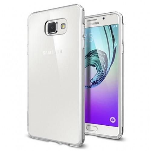 Чехол Spigen Liquid Crystal для Samsung Galaxy A7 прозрачный (SGP11841)Чехлы для Samsung Galaxy A Series<br>Чехол Spigen Liquid Crystal – тончайший защитный слой на корпусе вашего Galaxy A7, который способен уберечь корпус от повреждений, при этом не скрывая ег...<br><br>Цвет товара: Белый<br>Материал: Термопластичный полиуретан