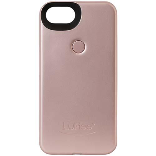 Чехол LuMee Two с подсветкой для iPhone 7 розовыйЧехлы для iPhone 7<br>Чехол LuMee TWO для iPhone 7 с подсветкой розовый мат.<br><br>Цвет товара: Розовый