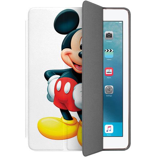Чехол Muse Smart Case для iPad Pro (10.5) Микки МаусЧехлы для iPad Pro 10.5<br>Чехлы Muse Smart Case — это индивидуальность, насыщенность красок, оригинальные принты и надёжная защита от повреждений.<br><br>Цвет: Разноцветный<br>Материал: Поликарбонат, полиуретановая кожа