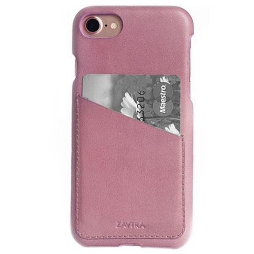 Чехол ZAVTRA для iPhone 7 (Айфон 7) розовыйЧехлы для iPhone 7<br>Чехол-бампер ZAVTRA для iPhone 7 выполнен из кожи лучшей выделки.<br><br>Цвет товара: Розовый<br>Материал: Пластик, натуральная кожа