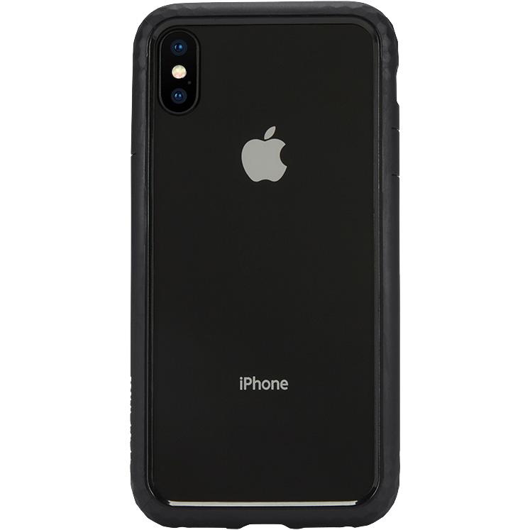 Чехол Incase Frame Case для iPhone X чёрныйЧехлы для iPhone X<br>Прочный текстурный чехол-бампер с амортизирующими свойствами Incase Frame Case отлично защищает ваш смартфон как от мелких царапин и сколов, так и...<br><br>Цвет товара: Чёрный<br>Материал: Термопластичный полиуретан, поликарбонат