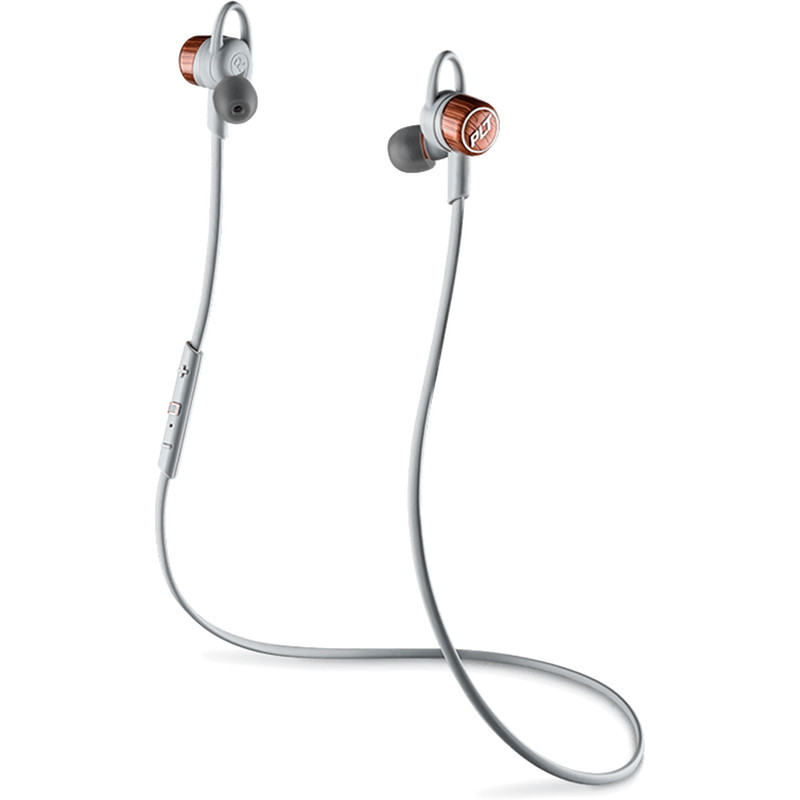 Наушники Plantronics BackBeat GO 3 серый/оранжевыйВнутриканальные наушники<br>Насладитесь звучанием. Забудьте о проводах.<br><br>Цвет товара: Серый<br>Материал: Пластик, силикон
