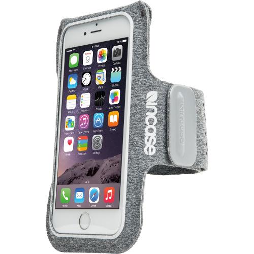 Чехол Incase Active Armband для iPhone 6/6s Plus серыйЧехлы для iPhone 6s PLUS<br>Спортивный чехол на руку incase Armband для iPhone 6 Plus серый<br><br>Цвет товара: Серый<br>Материал: Неопрен, текстиль