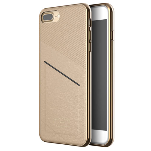 Чехол LAB.C Pocket Case для iPhone 7 Plus коричневый
