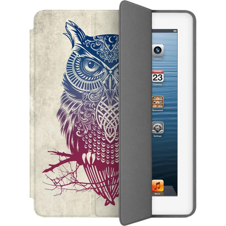 Чехол Muse Smart Case для iPad 2/3/4 СоваЧехлы для iPad 1/2/3/4 (2010-2013)<br>Чехлы Muse — это индивидуальность, насыщенность красок, ультрасовременные принты и надёжность.<br><br>Цвет товара: Разноцветный<br>Материал: Поликарбонат, полиуретановая кожа