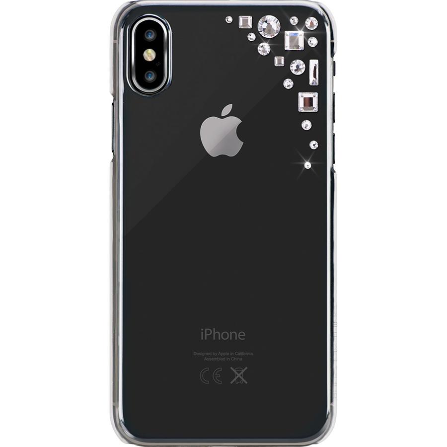 Чехол Bling My Thing Edge Collection для iPhone X прозрачныйЧехлы для iPhone X<br>Bling My Thing Edge Collection обеспечивает смартфону достойный уровень защиты!<br><br>Цвет товара: Прозрачный<br>Материал: Поликарбонат, полиуретан