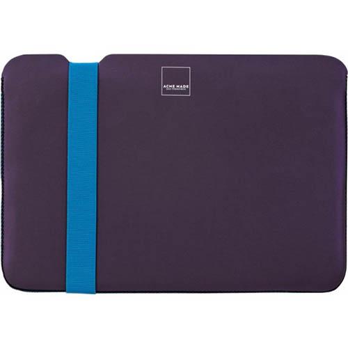 Чехол Acme Made Sleeve Skinny для MacBook Air 11 Фиолетовый/ГолубойЧехлы для MacBook Air 11<br>Acme Made Sleeve Skinny включает в себя амортизационную защиту с обеих сторон.<br><br>Цвет товара: Фиолетовый<br>Материал: Неопрен, текстиль