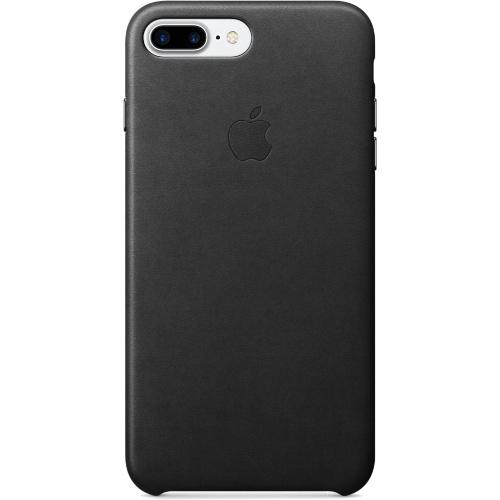 Кожаный чехол Apple Case для iPhone 7 Plus (Айфон 7 Плюс) чёрный