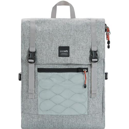 Рюкзак PacSafe Slingsafe LX450 (Tweed Grey) серыйРюкзаки<br>Удобный и надёжный рюкзак Pacsafe Slingsafe LX450 отлично подходит для городских прогулок, и легко вместит самое необходимое!<br><br>Цвет товара: Серый<br>Материал: Текстиль, нержавеющая сталь, пластик