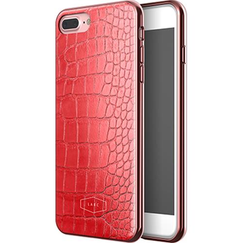 Чехол LAB.C Crocodile Case для iPhone 7 Plus красныйЧехлы для iPhone 7 Plus<br>С чехлом LAB.C Crocodile Case вы будете спокойны за сохранность своего Айфона и при этом сможете поразить окружающих премиум аксессуаром.<br><br>Цвет товара: Красный<br>Материал: Поликарбонат, полиуретан