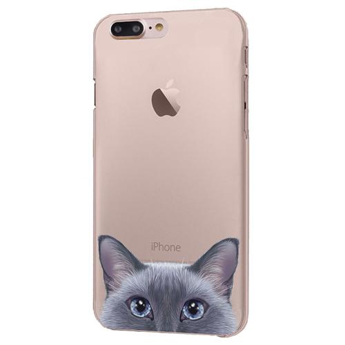 Чехол iPapai для iPhone 7 Plus «Питомцы» (Пушистик)Чехлы для iPhone 7/7 Plus<br>Креативный силиконовый чехол iPapai с уникальным дизайнерским принтом для iPhone 7 Plus.<br><br>Цвет товара: Разноцветный<br>Материал: Силикон