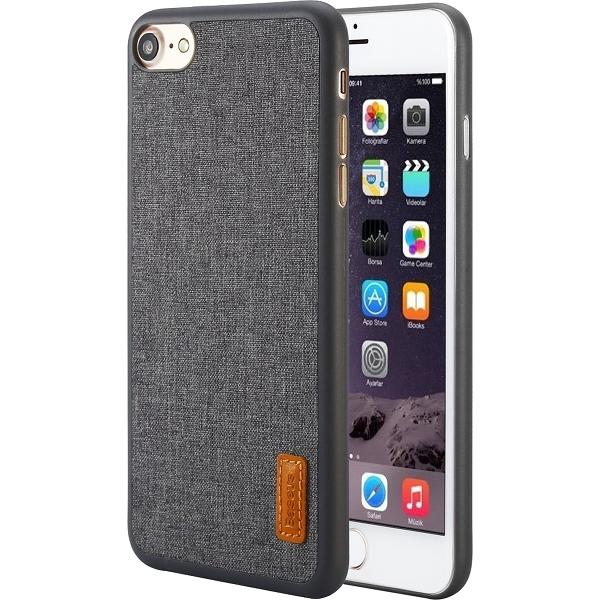 Чехол Baseus Grain Case Sunie Series Ultra Slim для iPhone 7 серыйЧехлы для iPhone 7/7 Plus<br>Тонкий чехол Baseus Grain Case Sunie Series Ultra Slim выглядит элегантно и в тоже время молодёжно, что не может не привлечь внимания.<br><br>Цвет товара: Серый<br>Материал: Термопластичный полиуретан, текстиль