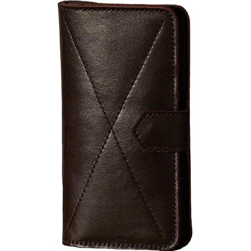 Чехол-бумажник Ray Button Kassel для iPhone 6/6s/7 Plus коричневыйЧехлы для iPhone 7 Plus<br>Стильный чехол. Удобный бумажник.<br><br>Цвет товара: Коричневый<br>Материал: Натуральная кожа, войлок