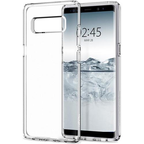 Чехол Spigen Liquid Crystal для Samsung Galaxy Note 8 кристально-прозрачный (587CS22056)Чехлы для Samsung Galaxy Note<br>Гибкий и прочный чехол Spigen Liquid Crystal изготовлен из термопластичного полиуретана.<br><br>Цвет товара: Прозрачный<br>Материал: Термопластичный полиуретан