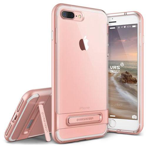 Чехол Verus Crystal Bumper для iPhone 7 Plus (Айфон 7 Плюс) розовое золото (VRIP7P-CRBRG)Чехлы для iPhone 7 Plus<br>Чехол Verus для iPhone 7 Plus Crystal Bumper, розовое золото (904634)<br><br>Цвет товара: Розовое золото<br>Материал: Поликарбонат, полиуретан