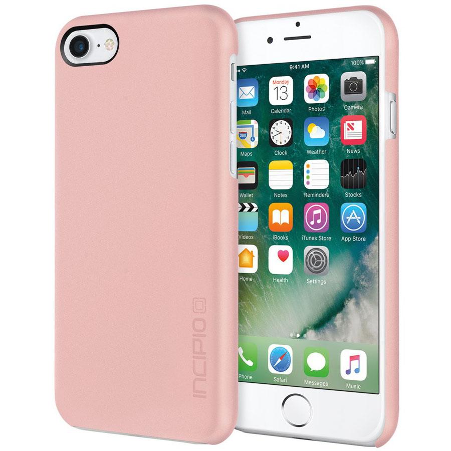 Чехол Incipio Feather для iPhone 7/ iPhone 8 розовое золотоЧехлы для iPhone 7<br>Incipio Feather — это прекрасный выбор в пользу превосходной защиты и современного стиля!<br><br>Цвет товара: Розовое золото<br>Материал: Поликарбонат