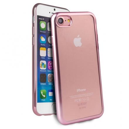 Чехол Uniq Glacier Frost для iPhone 7 (Айфон 7) розовое золотоЧехлы для iPhone 7<br>Чехол Uniq Glacier Frost для iPhone 7 (Айфон 7) розовое золото<br><br>Цвет товара: Розовое золото<br>Материал: Поликарбонат, полиуретан