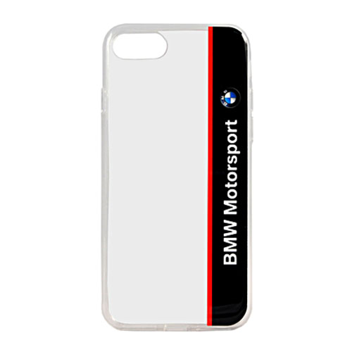 Чехол BMW Motorsport Transparent Hard PC для iPhone 7 синий