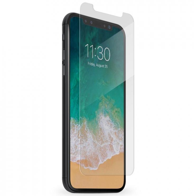 Защитное стекло HARDIZ Premium Glass для iPhone X прозрачноеСтекла/Пленки на смартфоны<br>HARDIZ Premium Glass создано, чтобы уберечь сенсорный дисплей вашего смартфона от повреждений.<br><br>Цвет товара: Прозрачный<br>Материал: Стекло; олеофобное покрытие, антибликовое покрытие<br>Модификация: iPhone 5.8